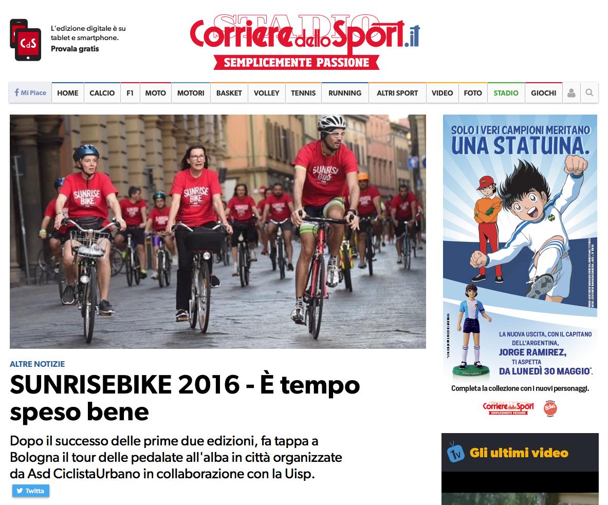 Corriere dello Sport Sunrisebike Bologna-01