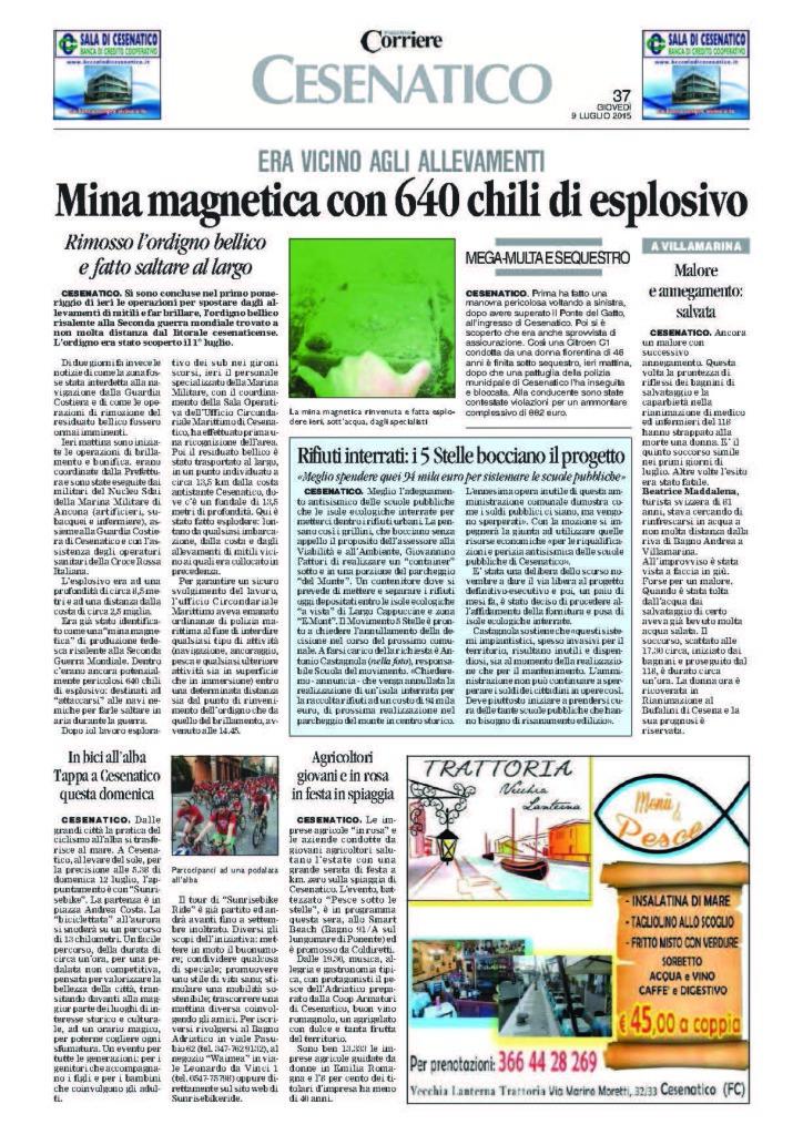 pagina Corriere di Romagna_09-07-2015